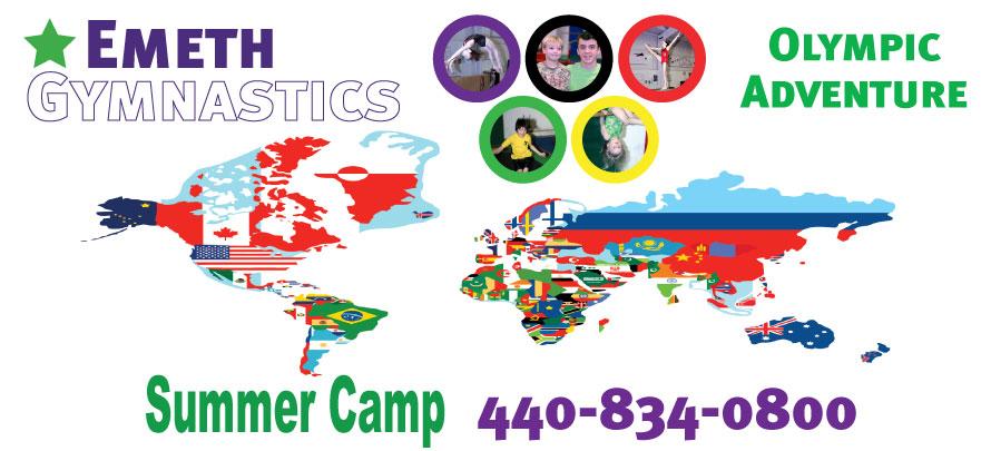 Summer Camp 2012 at Emeth Gymnastics
