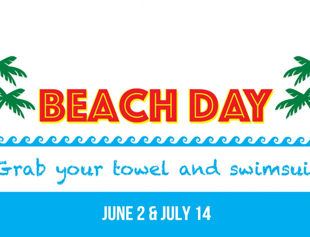 Beach Day at Emeth! June 2 & July 14