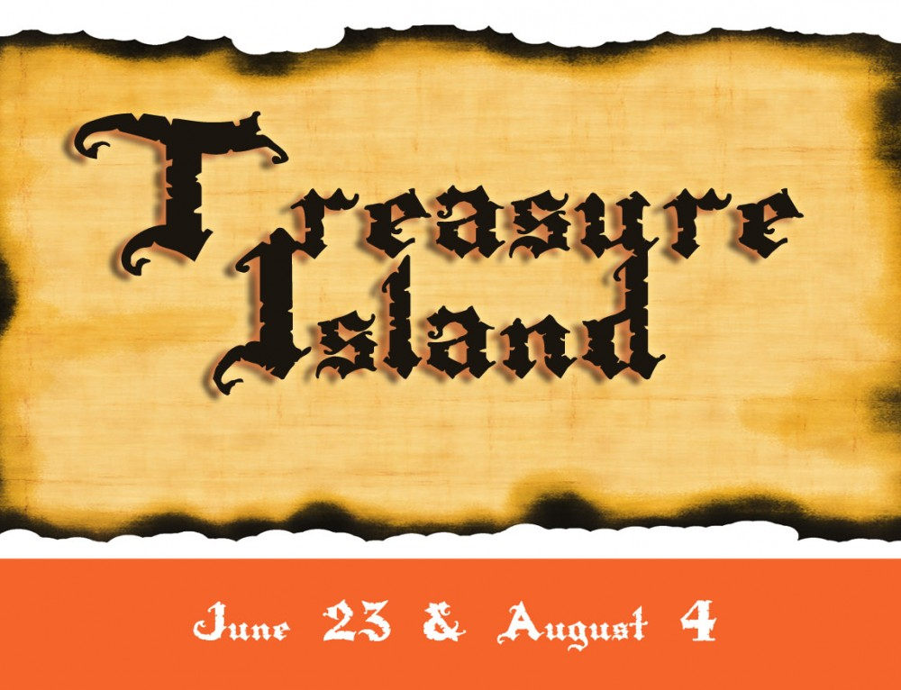 Treasure Island at Fliptastic Friday Camp! June 23 & August 4