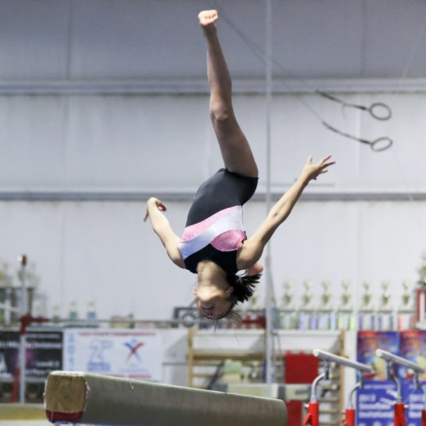 Shannon on beam
