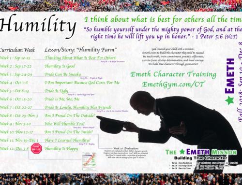 Fall 2018 CT – Humility