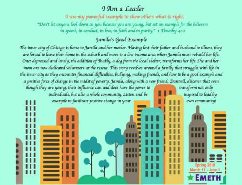 Spring 2019 CT – I Am A Leader