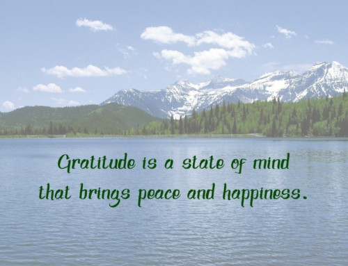 Your Brain and Gratitude: Less Fear-More Happiness