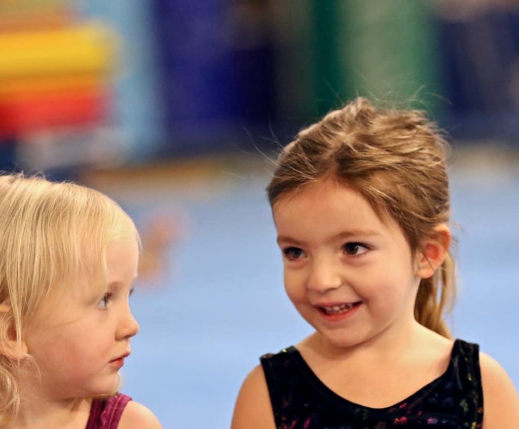preschool kids playing at Emeth