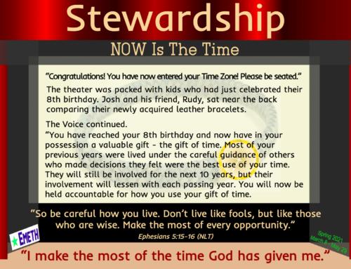 Spring CT 2021 Stewardship