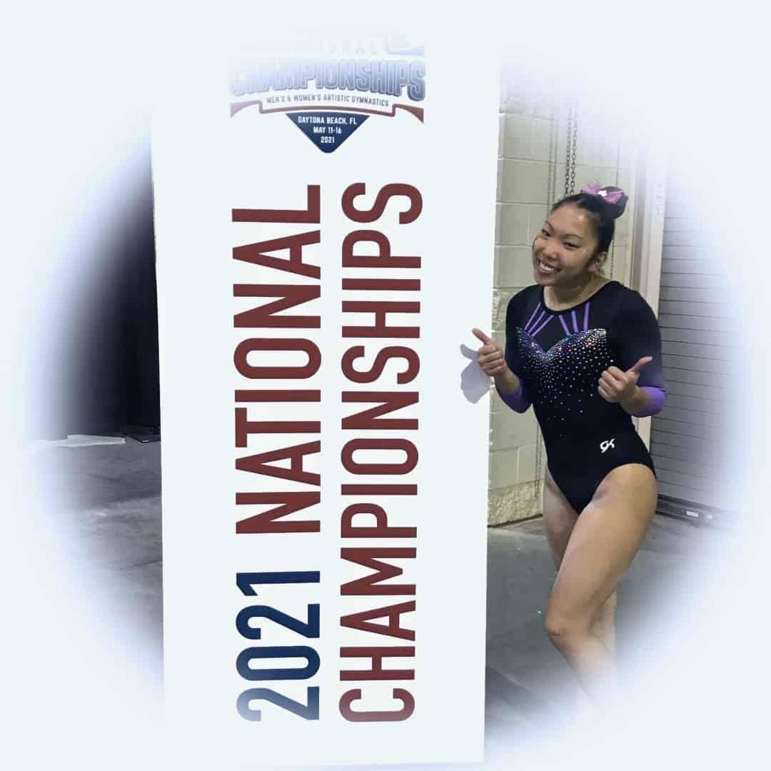 National gymnastics champion