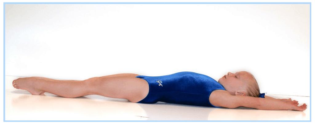 Gymnast Resting