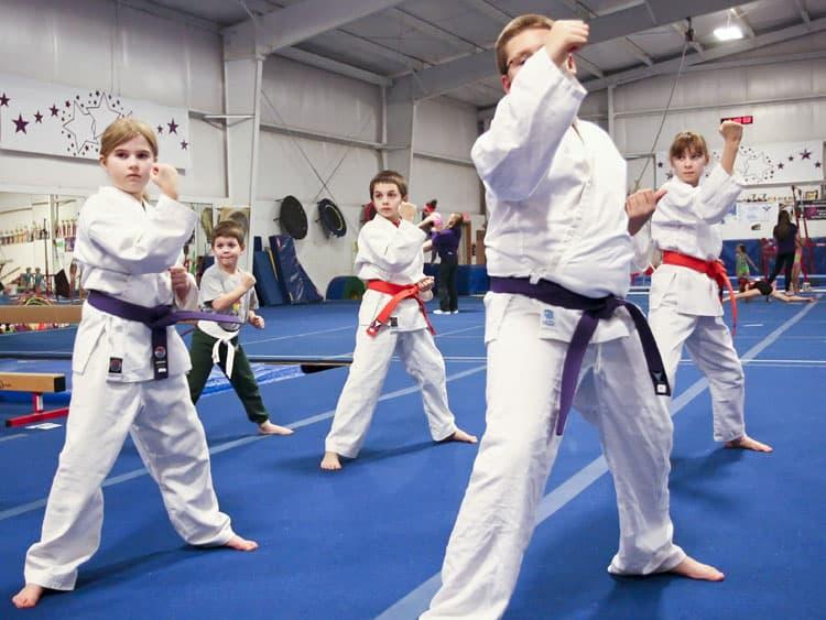 Kenpo Class Pic