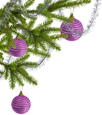 tree and ornaments